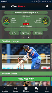 Cricflame  Cricket Live Line pc screenshot 1