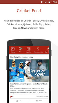 CricHeroes - World's Number 1 Cricket Scoring App pc screenshot 2