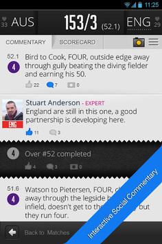 Cricout Cricket Scores & News pc screenshot 1