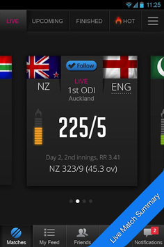 Cricout Cricket Scores & News pc screenshot 2