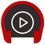 Crimson Music Player - MP3, Lyrics, Playlist for pc logo