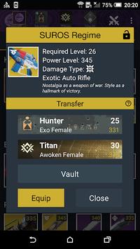 Vault Item Manager for Destiny 2 and 1 pc screenshot 1
