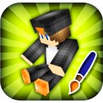 Skins Editor for Minecraft PE (3D) for pc logo