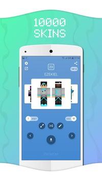 Skins for Minecraft PE pc screenshot 1