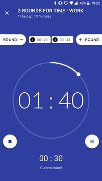 Workout timer : Crossfit WODs & TABATA pc screenshot 1