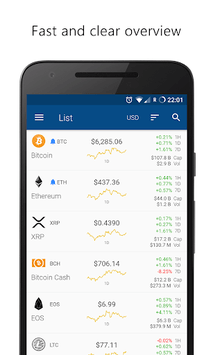 Crypto App - Widgets, Alerts, News, Bitcoin Prices pc screenshot 1