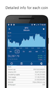 Crypto App - Widgets, Alerts, News, Bitcoin Prices pc screenshot 2
