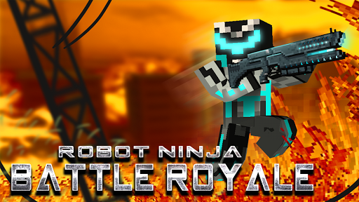 Robot Ninja Battle Royale pc screenshot 1