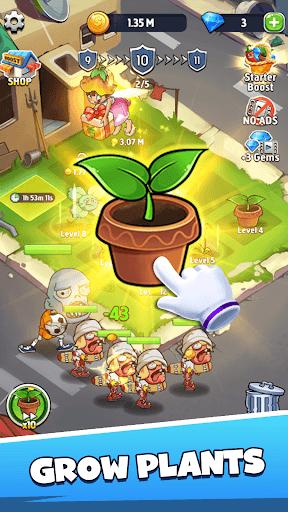 Merge Plants – Zombie Defense PC screenshot 1