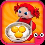 Toddler Kitchen Food Cooking Games-EduKitchen Girl icon