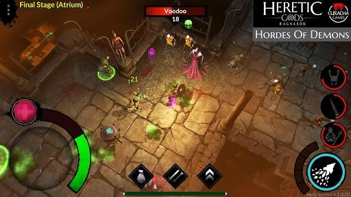 HERETIC GODS pc screenshot 1