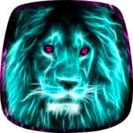 Neon Animals Wallpaper icon
