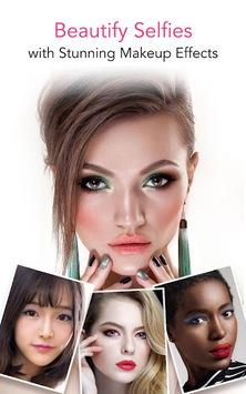 YouCam Makeup - Magic Selfie Makeovers pc screenshot 2