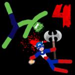 Stickman Warriors 4 Online icon