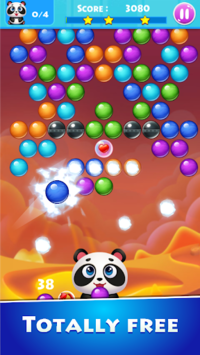 Panda story: Bubble mani pc screenshot 1