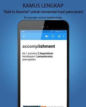 Indonesia - English Dictionary pc screenshot 1
