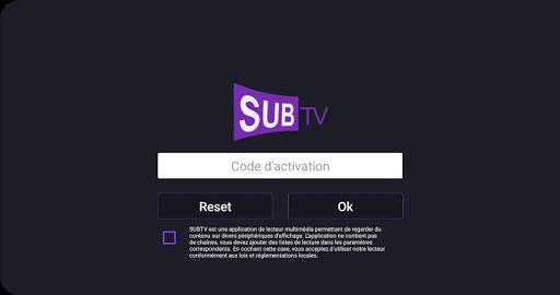 SUBTV PC screenshot 1