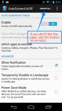 Auto Screen On Off(Smart Cover pc screenshot 1