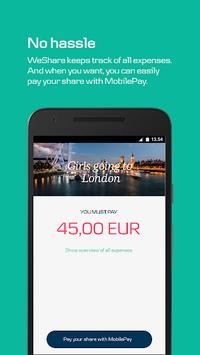 WeShare by MobilePay pc screenshot 1