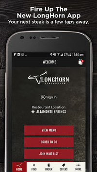 LongHorn Steakhouse® pc screenshot 1
