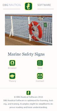 Marine Safety Signs pc screenshot 1
