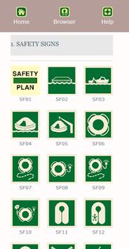 Marine Safety Signs pc screenshot 2
