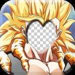 Super Saiyan Goku SSJ3 Photo Frame Editor icon