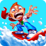 Skiing Fred for pc logo