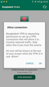 Bangladesh VPN Free pc screenshot 1