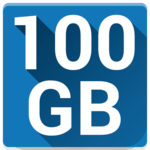 100 GB Free - Degoo Cloud Drive icon