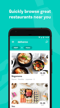 Deliveroo: Restaurant Delivery pc screenshot 1