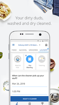 delivery.com: Order Food, Alcohol & Laundry pc screenshot 1