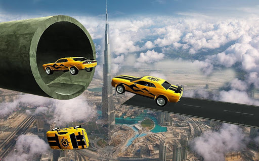 Racing Car Stunts On Impossible Tracks pc screenshot 1