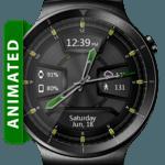 Daring Graphite HD WatchFace Widget Live Wallpaper for pc logo