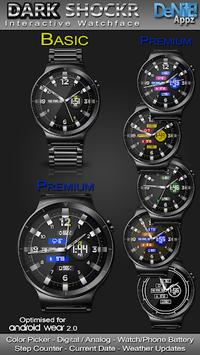 Dark ShockR HD Watch Face Widget & Live Wallpaper pc screenshot 1