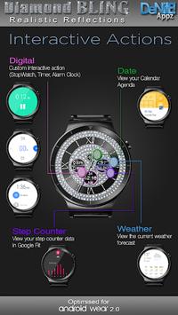 Diamond Bling HD WatchFace Widget & Live Wallpaper pc screenshot 1