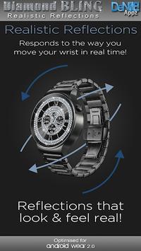 Diamond Bling HD WatchFace Widget & Live Wallpaper pc screenshot 2