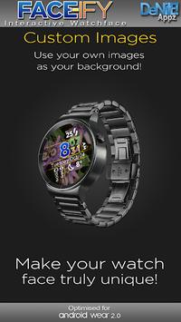 FACE-ify HD Watch Face Widget & Live Wallpaper pc screenshot 1