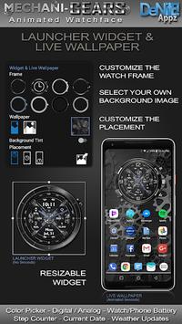 Mechani-Gears HD Watch Face Widget Live Wallpaper pc screenshot 2