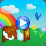 Sound to children sleep icon