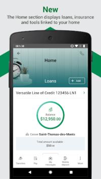Desjardins mobile services pc screenshot 1