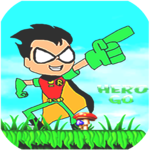 Superhero Titans Go Run Adventure for pc logo