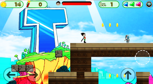Superhero Titans Go Run Adventure pc screenshot 2
