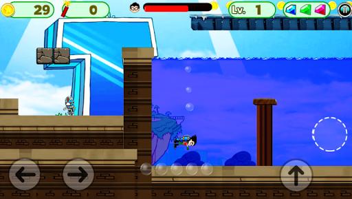 Superhero Titans Go Run Adventure pc screenshot 1