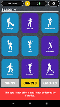 Battle Royale - Dances & Emotes pc screenshot 1