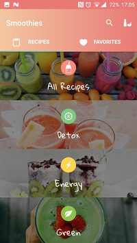 Smoothies: Healthy Recipes pc screenshot 2