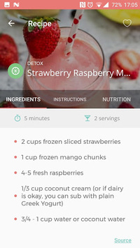 Smoothies: Healthy Recipes pc screenshot 1