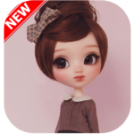 girly doll icon