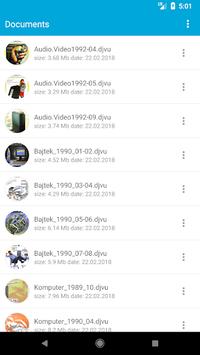 DjVu Reader - Viewer for DjVu and Pdf pc screenshot 1