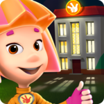 Fiksiki Dream House Games & Home Design for Kids icon